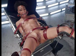 Ebony bi-atch Nikki Darling, in the..