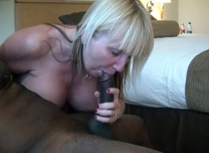 Blondie mummy is a paramour of oral..