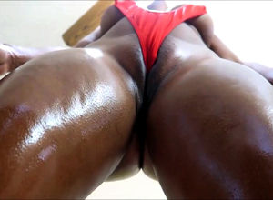 Greased bootie adore from african woman