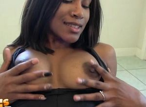 Stud plows stiff his pretty black queen