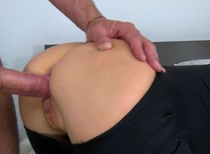 Sexy cockslut caught and gets fuckbox..