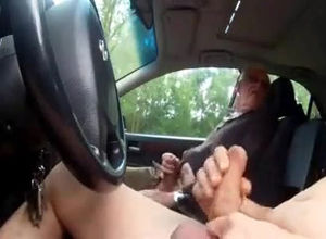 Mutual Onanism in my car spy web cam