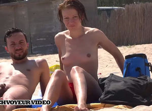 Naturist duo noticed they were being..