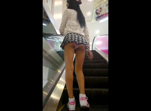 Lets witness under her brief miniskirt..