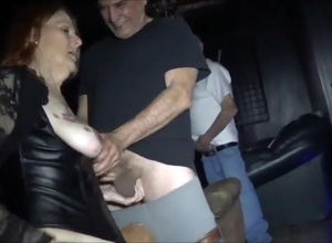 Arizona slutwife gang-fucked after..