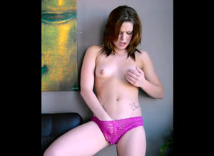 Cute Abby Paradise romps her longing..