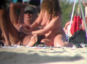 Cap D'agde hidden cam nudists movie