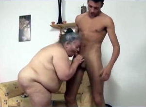 So hefty granny but bj'ed so steamy